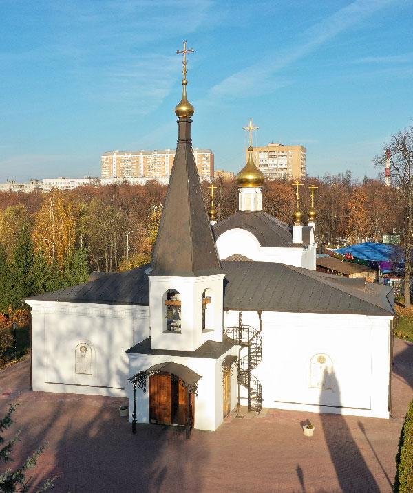 Храм Воскресения Христова г. Подольск
